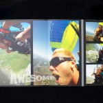 Panoramic books - tandem skydiving