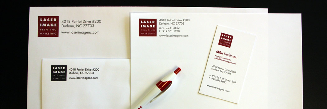 Letterhead biz cards laser image printing marketing envelopes business cards letterhead make your brand image shine reheart Gallery