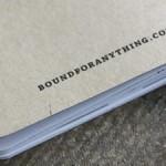 Bound journals
