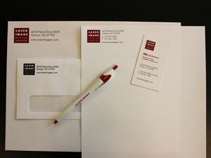 Letterhead biz cards laser image printing marketing envelopes business cards letterhead make your brand image shine reheart Gallery