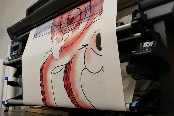 HP L360 latex printer