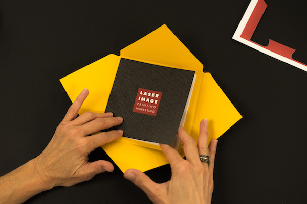 Direct mail piece for the 12 Touch campaign