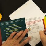 Adding personal note to prospecting letter, custom printed on hp Indigo press, used as mailer in 12-Touch prospecting campaign